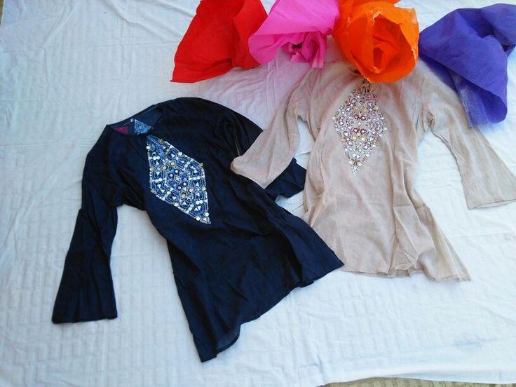 Tunicas en tejido algodon en www.bauldealgodon.com