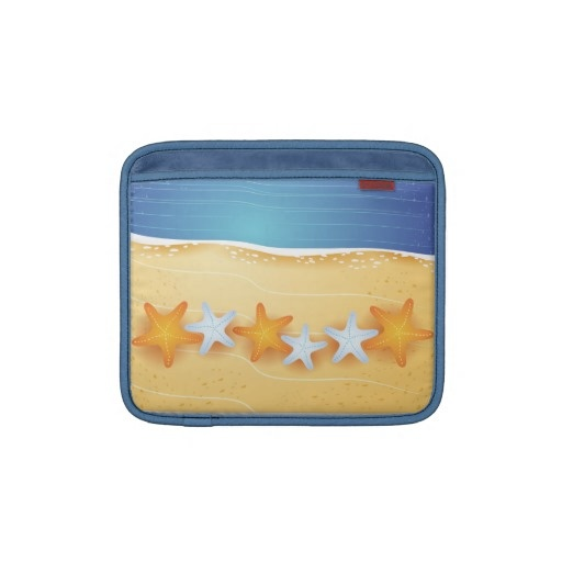 Beach background, iPad case Sleeves For iPads by PinkHurricane #Zazzle store :)