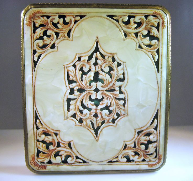 1000 Images About Compacts On Pinterest Vintage Art