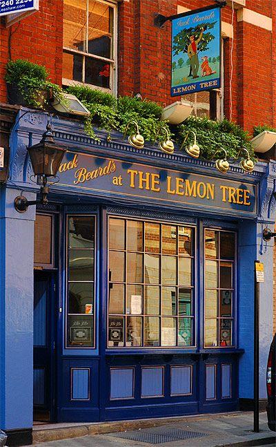 shop front Lemon Tree, London