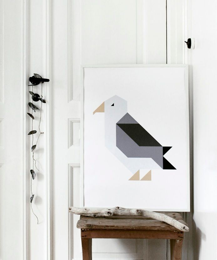 "I love ""Seagully"" by Silke Bonde"