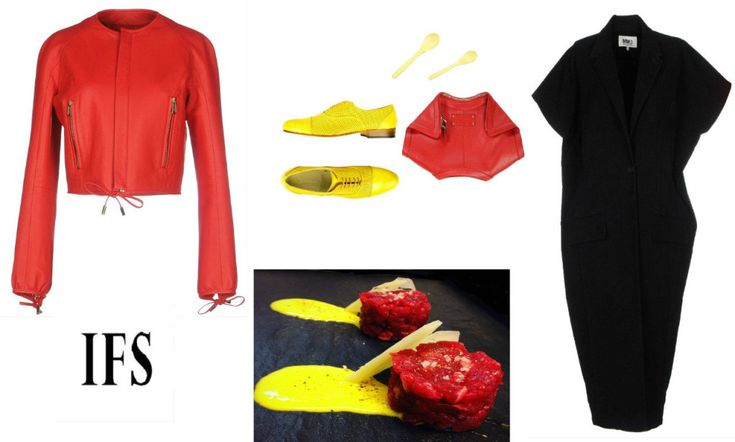 #fashion #outfit #red #black