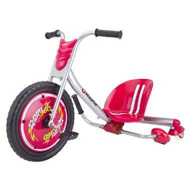 Razor Dreirad Flashrider 360 rot -  Mit dem coolen Dreirad kannst Du sogar driften #Dreirad #Spaß #Kinderfahrzeuge