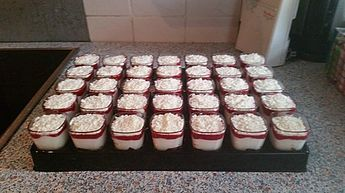 Schneegestöber mit weißer Schokolade (food deserts cupcakes)