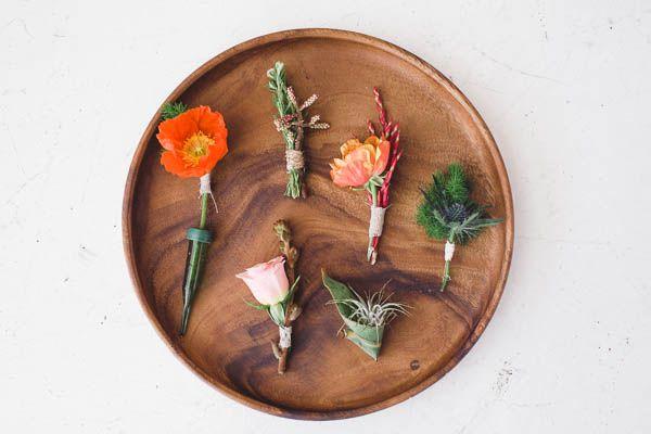 DIY Aztec Sand Centerpieces//flower ideas