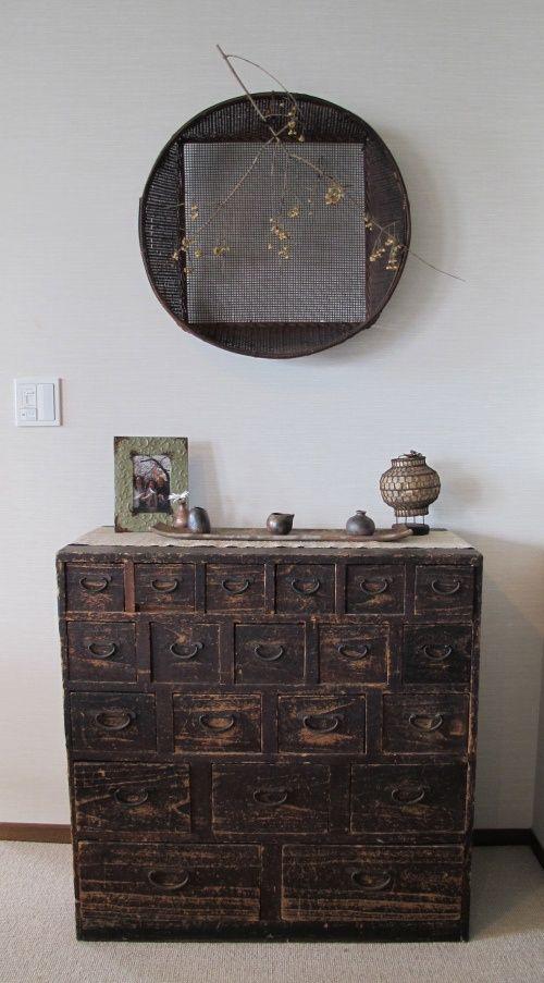Tansu - antique Japanese cabinet : More At FOSTERGINGER @ Pinterest
