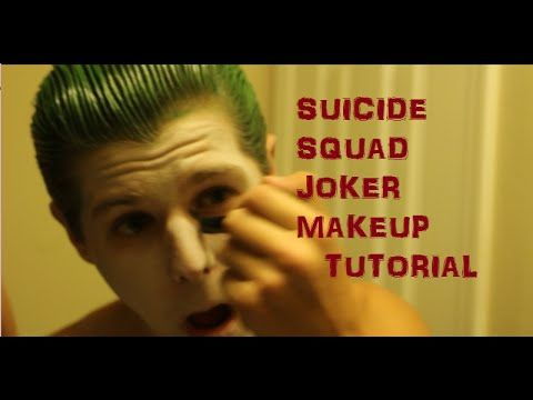 Jared Leto Suicide Squad Joker Makeup Tutorial - https://www.avon.com/?repid=16581277 Avon Eyebrow Solutions  lol  http://47beauty.com/makeup/jared-leto-suicide-squad-joker-makeup-tutorial/