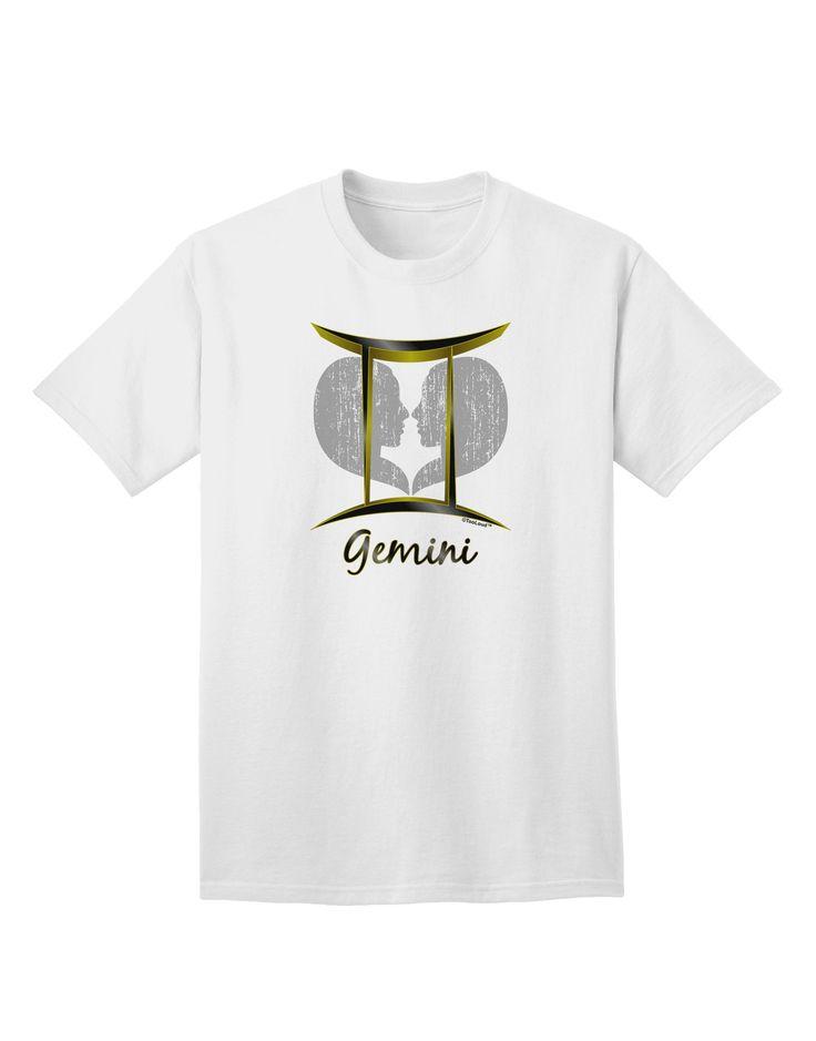 TooLoud Gemini Symbol Adult T-Shirt