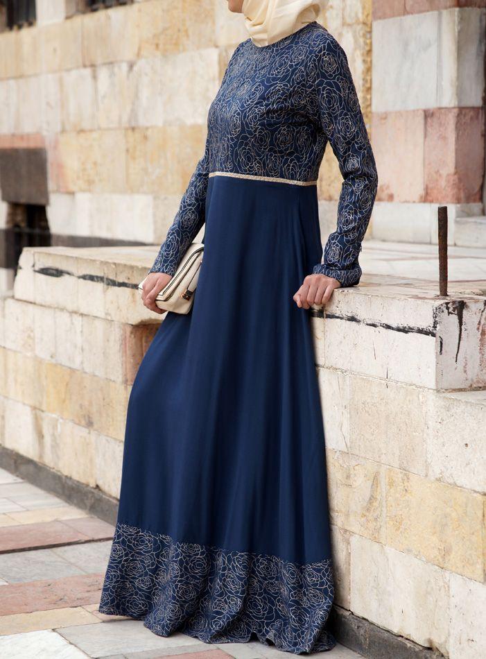 SHUKR USA | Sahara Embroidered Gown