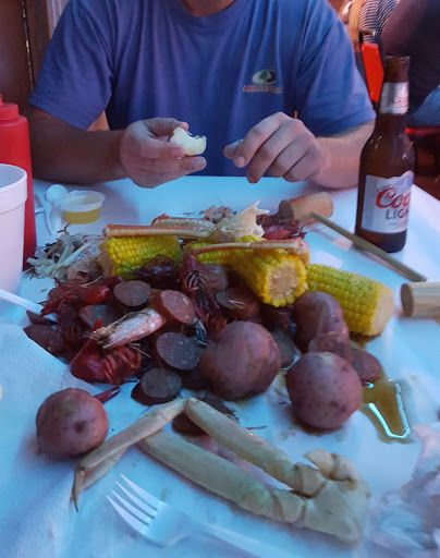 The Crazy Cajun Seafood Restaurant Port Aransas Pagefree A Pinterest And