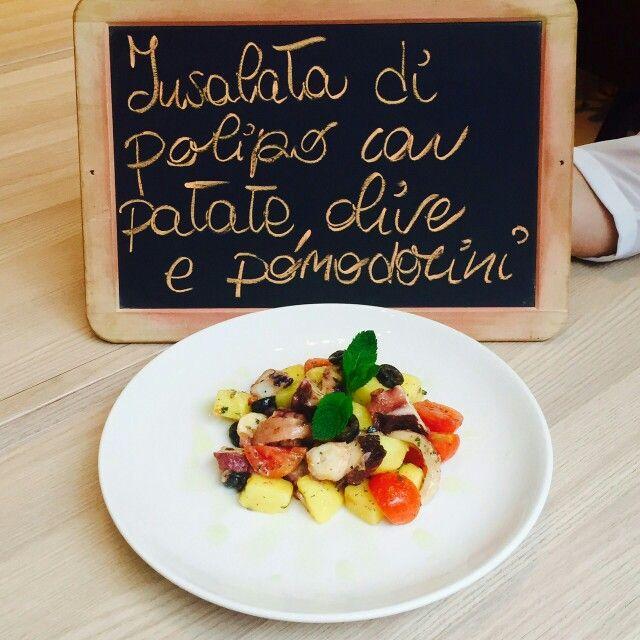 #spaziodonizetti #piattodelgiorno #lunch #polipo