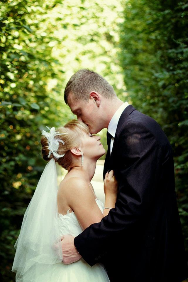 wedding :)  www.facebook.com/fotomakijaz  Like my page please. :)  Weeding couple bride sun summer  photo: M. Karolak