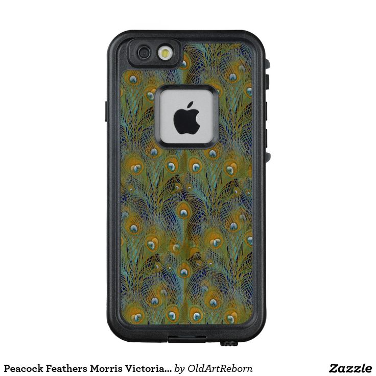Peacock Feathers Morris Victorian Designs LifeProof® FRĒ® iPhone 6/6s Case