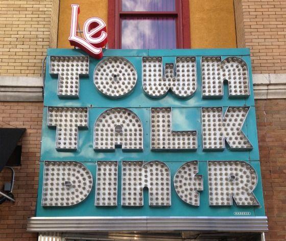Le Town Talk Diner - 2707 E Lake St, Minneapolis, MN. Tuesday date night.