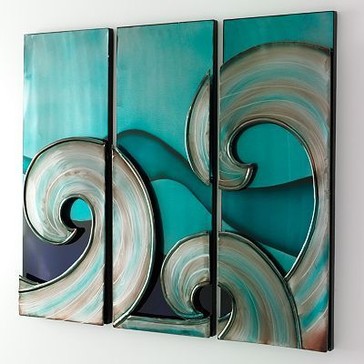 you love :)Beach Themed Rooms, Wall Art, Wall Decor, Apartments Ideas, Guest Bedrooms Decor, Waves Wall, The Waves, Bedrooms Wall, Decor Sets