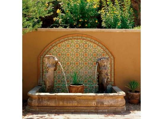 26 best fountains mexican images on pinterest for Spanish style fountains for sale