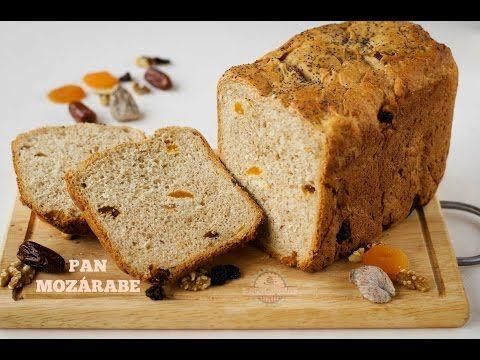 Pan Mozárabe o Pan de Frutos Secos - Pan en panificadora LIDL - YouTube
