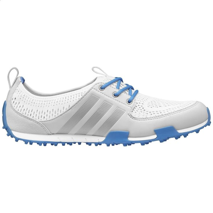 Adidas Womens Climacool Ballerina II Running White/ Silver / Chambray Golf Shoes
