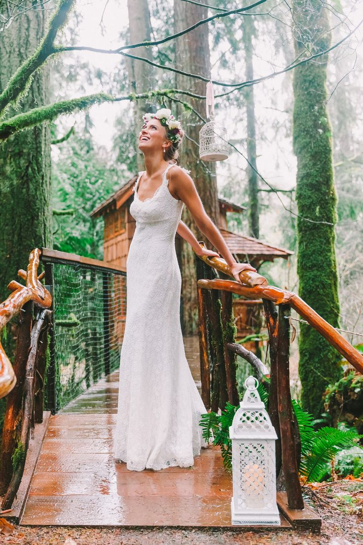 Treehouse Point - Pacific Northwest wedding inspiration by Luma Weddings and Wild Spirit Events