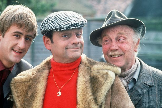 Cushty: Del with Rodney and grandad