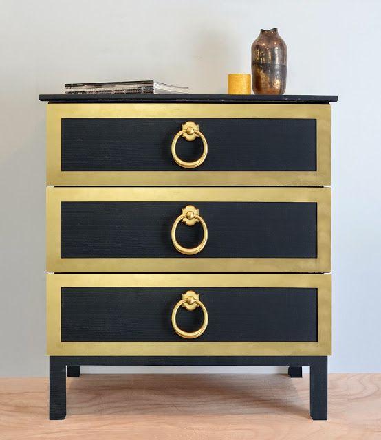 O'verlays: Wow Rex...Look at those Door Knockers!  IKEA Tarva dresser transformed.  An easy furniture DIY