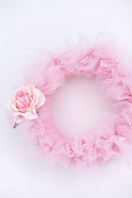 Tuille wreath - ballerina party