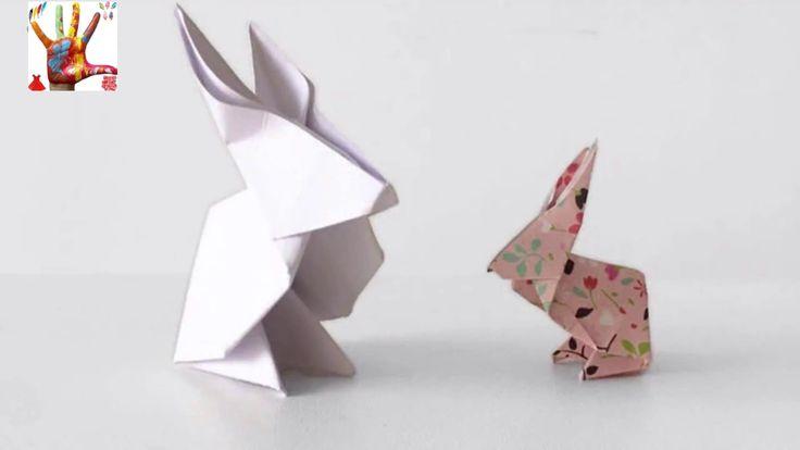 簡單折紙 動物 小兔子