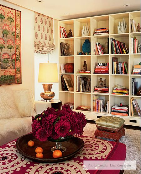 Bookcases... Cozy space