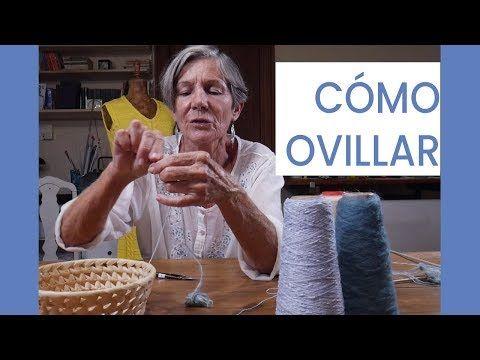 Como começar a tricotar ➜ Como enrolar ➜ Aprenda a #tejer com María Lucila C ...