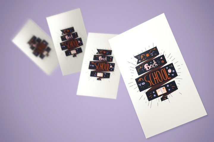 Back To School Lettering Stickers By Barsrsind Shop