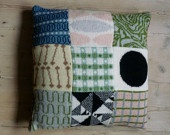 hand felted cushions