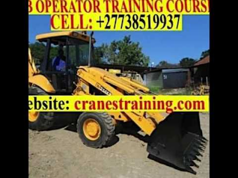 MINING MACHINE OPERATOR TRAINING +27738519937 Visit http://cranestraining.com/earth.php