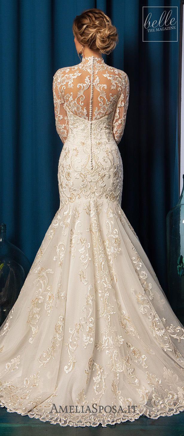 Amelia Sposa 2019 Belle The Magazine Amelia Sposa Wedding Dress Amazing Wedding Dress Davids Bridal Wedding Dresses