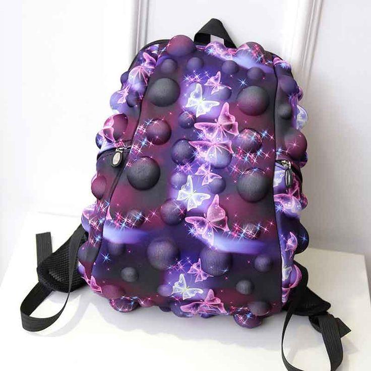 2017 Luxury Brand Harajuku Colorful Galaxy Women Men Backpack Female Teenage Girl School Bag Cool Computer Laptop Youth Backpack #Affiliate