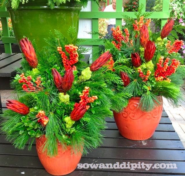 14 Gorgeous Fall Planters :: Hometalk