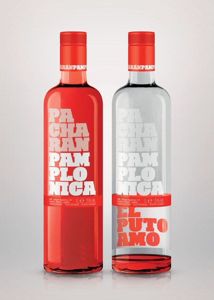 PacharánPamplonica - The Dieline: The World's #1 Package Design Website -