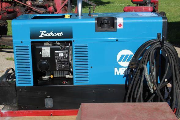 Find & Bid On Miller Bobcat 225 NT 8000w Gen./welder - Now For Sale At Auction