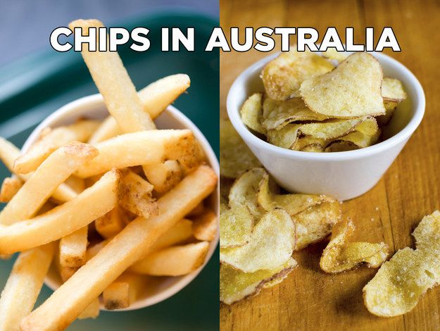 These two very different things that share the same name. | 29 Photos Non-Australians Will Just Never Understand