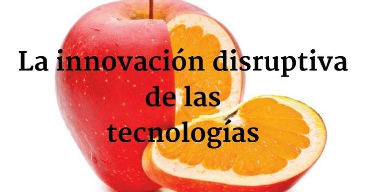 La innovación disruptiva de las tecnologías  La disrupción no radica únicamente en generar un cambio revolucionario en la tecnología o el mercado sino en sorprender con soluciones inesperadas. La innovación puede presentarse de diversas maneras: como innovación sustentable y como innovación disruptiva.  La innovación sustentable no cambia el escenario donde opera ni desea lograr mutaciones drásticas. Puede ser evolutiva (una mejora de acuerdo a lo esperado) o revolucionaria (una mejora…