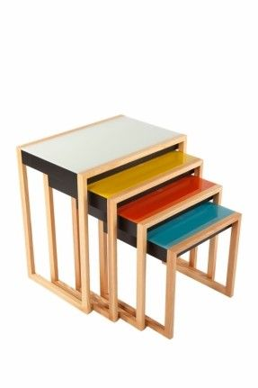 clear nesting tables side tables living room design the living