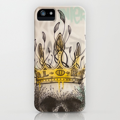 NO GLORY iPhone Case by Original Asker - $35.00