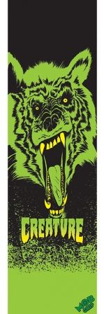 Check out the deal on 9in x 33in Creature Wolf Sheet Mob Skateboard Grip Tape at NHS Fun Factory