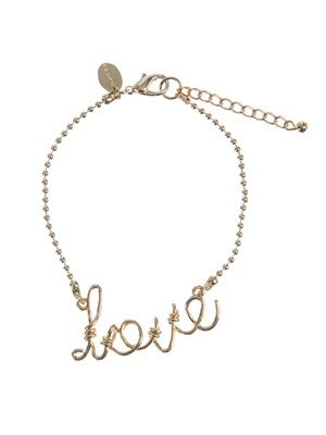 Barfota spring/summer jewellery 2014 Footchain love www.barfota.no