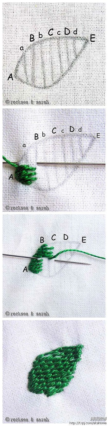 Hand embroidery tutorial / DIY
