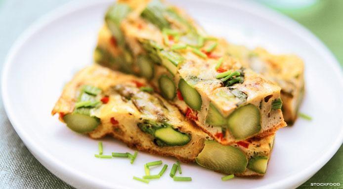 Receita de Omelete de Aspargos | Melissa Setubal