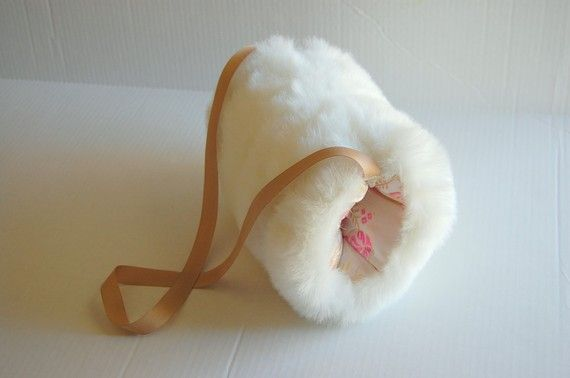 Oh how I loved my white fur muff!