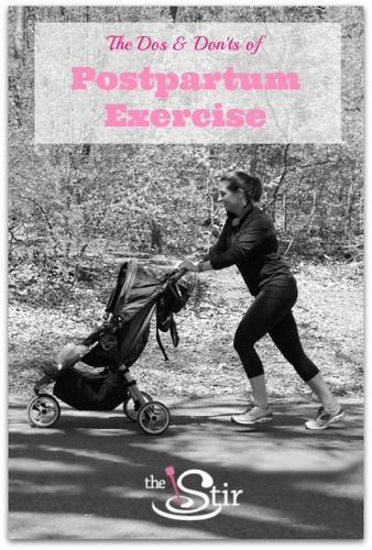 A personal trainer's tips to SAFE workouts after having a baby! http://thestir.cafemom.com/healthy_living/167703/the_truth_about_exercising_after?utm_medium=sm&utm_source=pinterest&utm_content=thestir