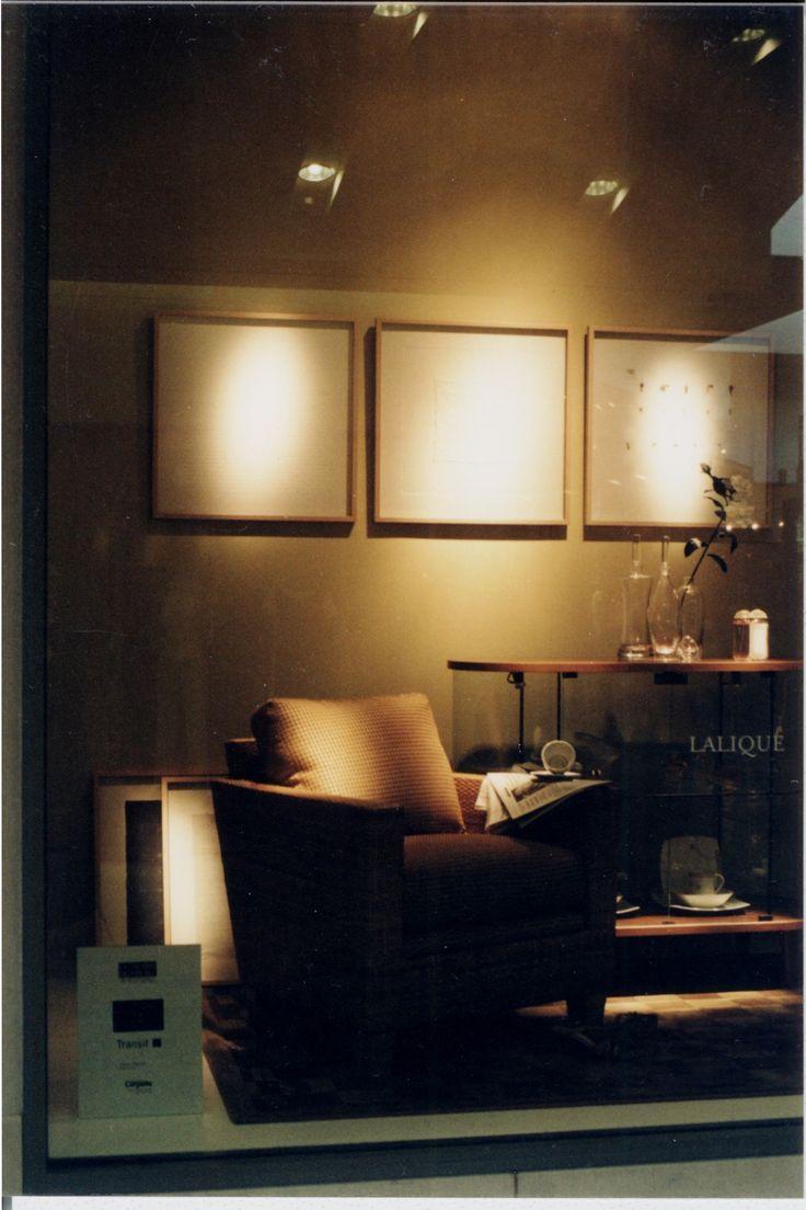 Journal intime (pages mois)mur et sol 2002   Denise Pelletier, Holt Renfrew House, Ste Foy, Québec