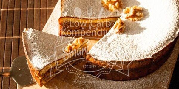 Walnusstorte Low Carb – Festliche Weihnachtsbäckerei