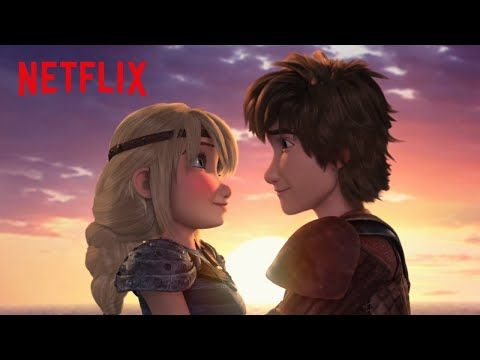 Race To The Edge Season 6 Hiccstrid Moment! - YouTube < This is my favorite Hiccstrid scene ever now! When he told her he loves her I paused the show and cried for five minutes because I was so happy. :)